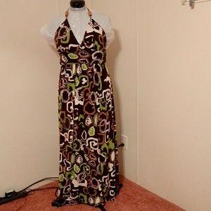New Direction Women's Halter Top Dress